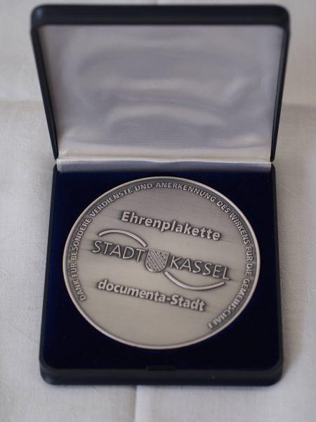 Auszeichnung Kontaktladen Ehrenplakette